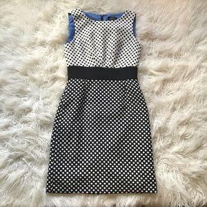 Tahari by Arthur S. Levine - polka dot dress